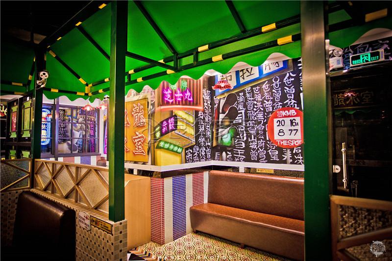 九龙冰室餐厅家具