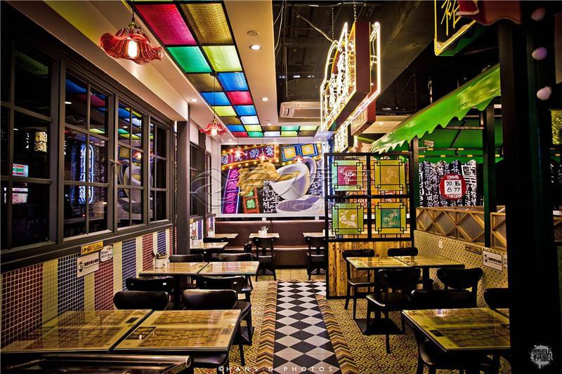 九龙冰室茶餐厅家具
