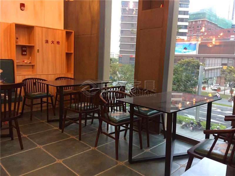 广州南沙某美式复古混合风咖啡厅案例